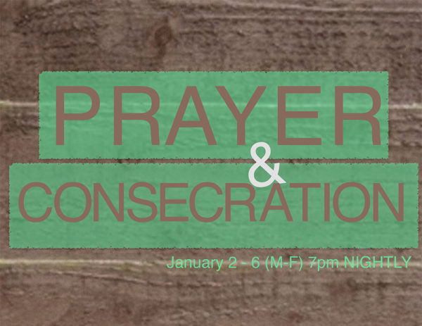 DOM Consecration Week