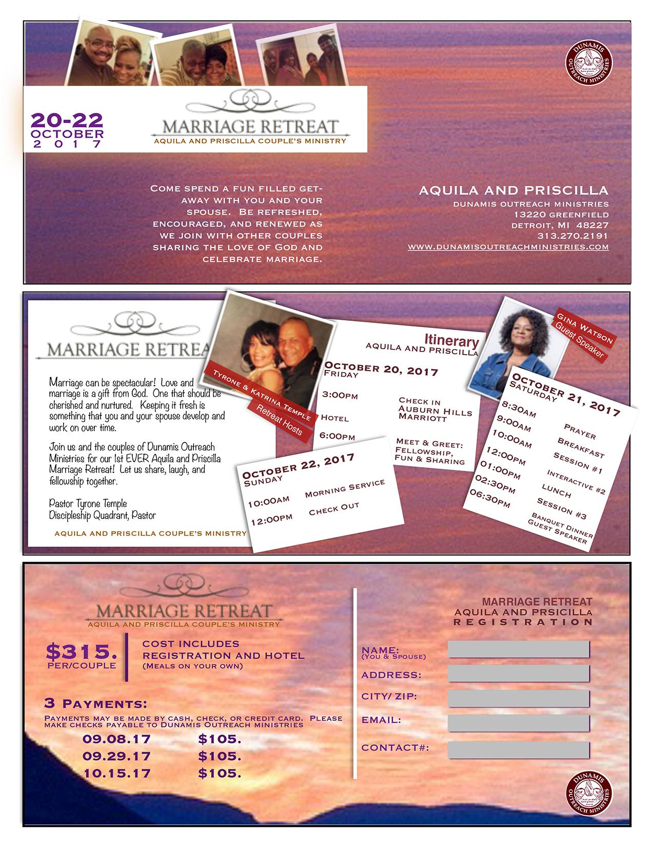 Aquila & Pricilla Marriage Retreat 2017 pg 2