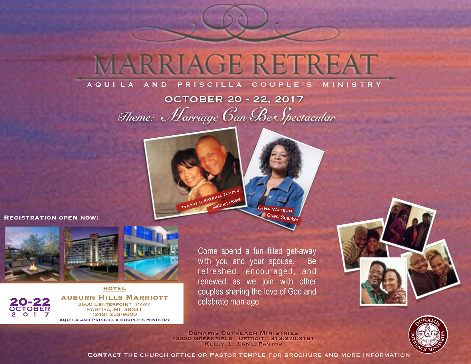 Marriage Retreat Flyer