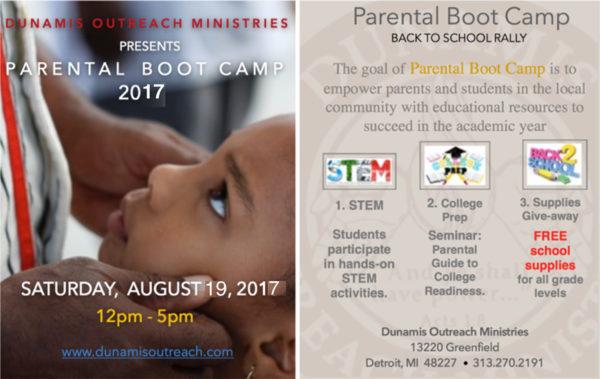 PARENTAL BOOT CAMP