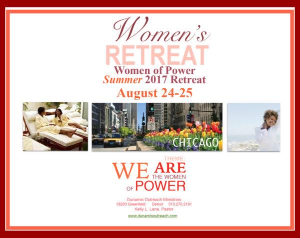 Women Of Power Summer 2017 Chicago Retreat