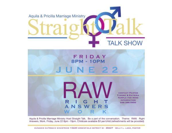 Straight Talk Show