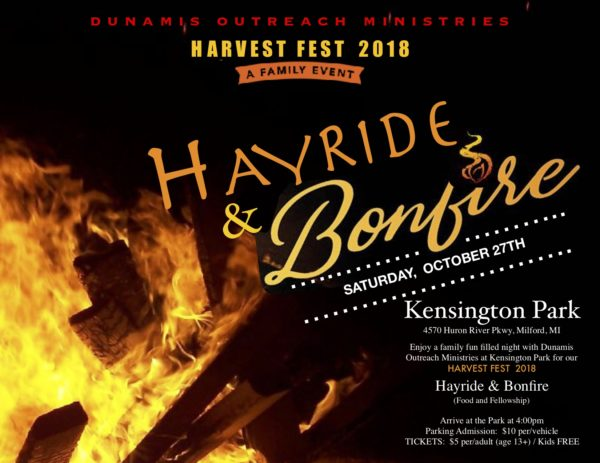 HarvestFest 2018: Hayride and Bonfire