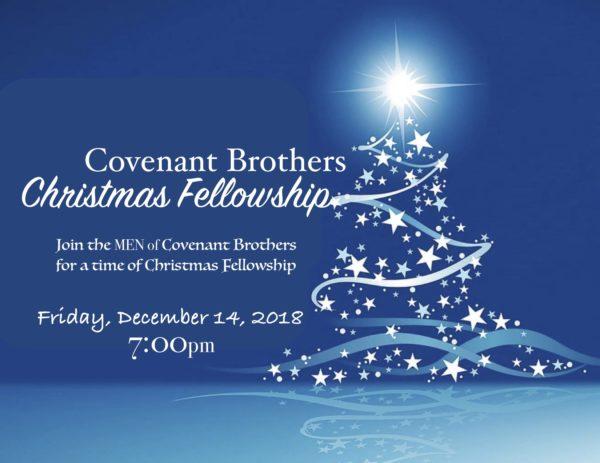 Covenant Brothers Christmas Fellowship