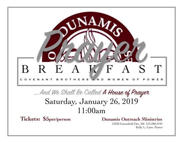 DOM Prayer Breakfast