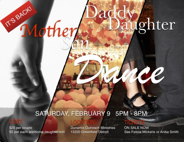Daddy-Daughter / Mother-Son Dance