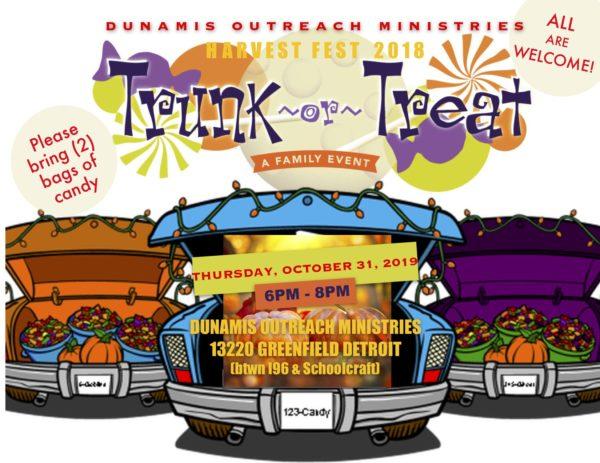 HarvestFest: Trunk or Treat